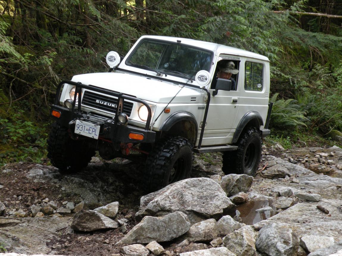 91 Suzuki Samurai Tin top